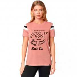 Tee-Shirt Fox Rally Point Top rose