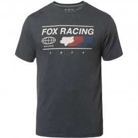 Tee-shirt Fox Global Technique bleu gris