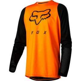 Maillot Fox Enfant Defend atomic orange 2019