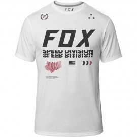 Tee-shirt Fox Triple Threat Technique optic white
