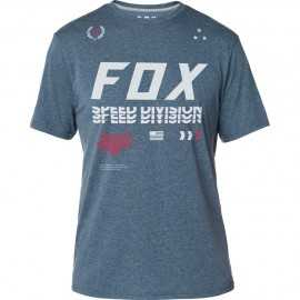 Tee-shirt Fox Triple Threat Technique heather deep cobalt