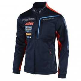 Veste Troy lee designs Team KTM Pit Polar navy 2018