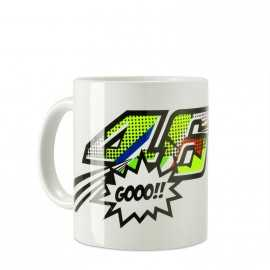 Tasse VR46 Pop Art white