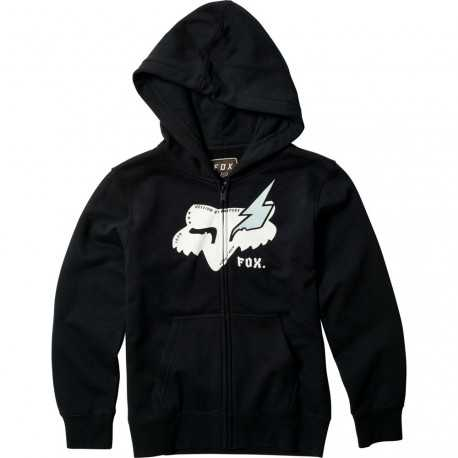 Sweat Fox enfant  Hellion Zippé black