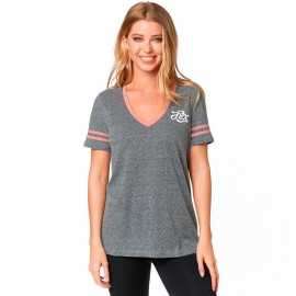 Tee-shirt Fox Femme Heartbreaker Top heather graphite