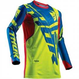 Maillot cross Thor Prime Fit S18 Paradigm lime blue