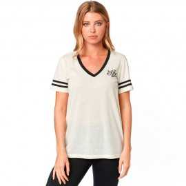 Tee-shirt Fox Femme Heartbreaker Top bone