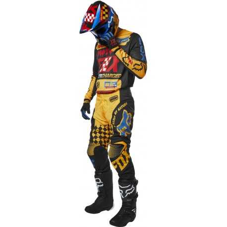 Tenue Fox Kids 180 CZAR Black Yellow 2019