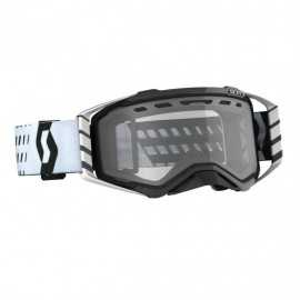Masque Scott Prospect Enduro Black White écran clair 2020