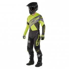 Tenue Alpinestars Racer Tech Atomic black yellow fluo gray 2019