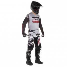 Tenue Alpinestars Racer Tactical black gray burgundy