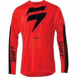 Maillot cross Shift 3Lack Label Race 1 red black 2020