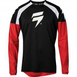 Maillot Cross Shift Whit3 Label Race 1 black red 2020