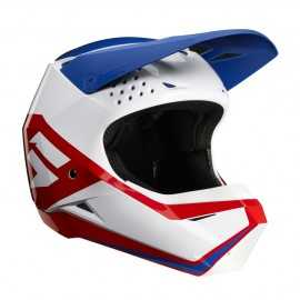 Casque cross Shift Enfant Whit3 Graphic white red blue 2020