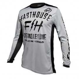 Maillot Fasthouse Dickson silver 2020