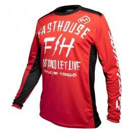 Maillot Fasthouse Dickson red 2020