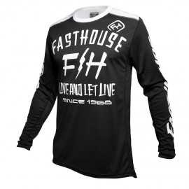 Maillot Fasthouse Dickson black 2020