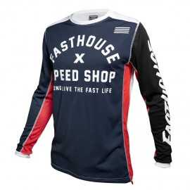 Maillot Fasthouse Heritage navy 2020