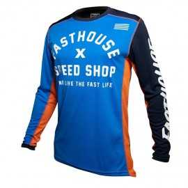 Maillot Fasthouse Heritage blue 2020