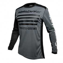 Maillot Fasthouse Slash grey white 2020