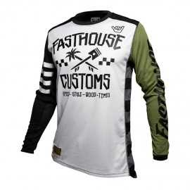 Maillot Fasthouse Hawk olive 2020