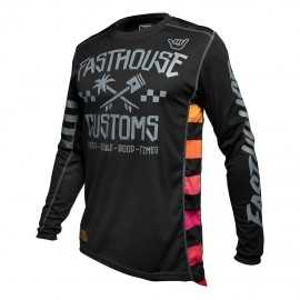 Maillot Fasthouse Hawk black 2020