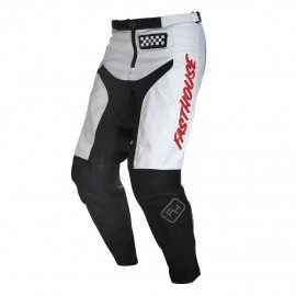Pantalon Fasthouse Grindhouse white red 2020
