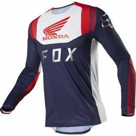 Maillot Fox Flexair Honda navy red 2020