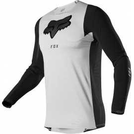Maillot Fox Flexair DUSC light grey 2020