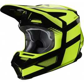 Casque cross Fox V2 HAYL Jaune fluo 2020