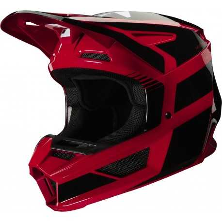 Casque cross Fox V2 HAYL Flame Red 2020