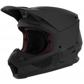 Casque cross Fox V1 MATTE black 2020