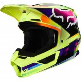 Casque cross Fox V1 GAMA yellow 2020