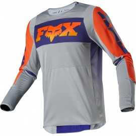 Maillot Fox 360 Linc grey orange 2020