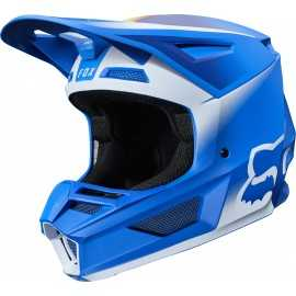 Casque cross Fox V2 VLAR Blue 2020