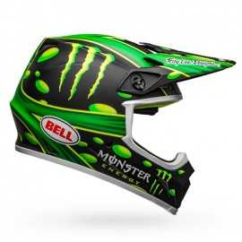 Casque cross Bell MX-9 Mips McGrath Showtime Replica noir mat vert 2020
