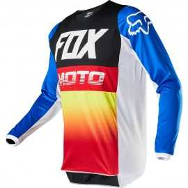 Maillot Fox 180 FYCE blue red 2020