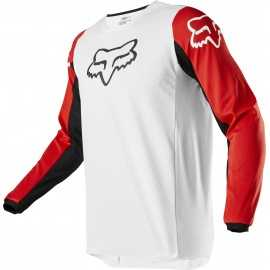 Maillot Fox 180 PRIX white black red 2020