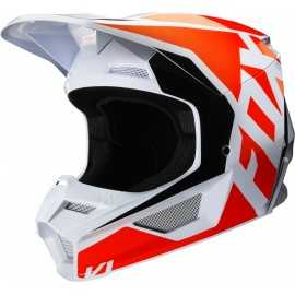 Casque cross Fox V1 PRIX orange fluo 2020