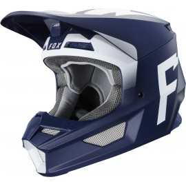 Casque cross Fox V1 WERD navy 2020