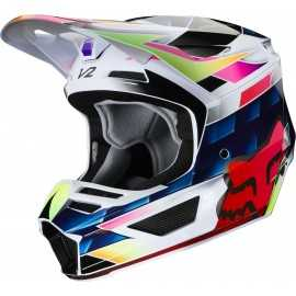 Casque cross Fox V2 Kresa Multi 2020