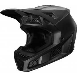 Casque cross Fox V3 Solids matte black 2020