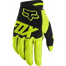 Gants Fox Dirtpaw Race jaune fluo 2020
