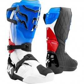 Bottes cross Fox Comp R blue red 2020