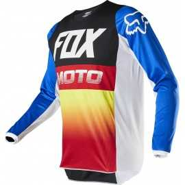 Maillot Fox Enfant 180 FYCE blue red 2020