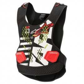 Pare pierre Alpinestars Sequence Chest Protector black white red 2020