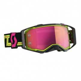 Masque Scott Prospect Black Yellow écran pink chrome works 2020