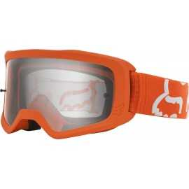 Masque Fox Main II Race orange fluo écran clair 2020