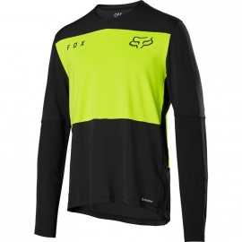 Maillot Fox Defend Delta Lunar day glo yellow