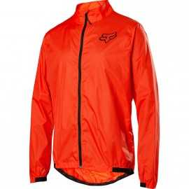 Veste Fox Defend Wind orange crush